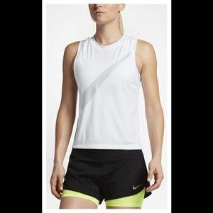 Nike- Womens City Core DRY Racerback Running- NWT